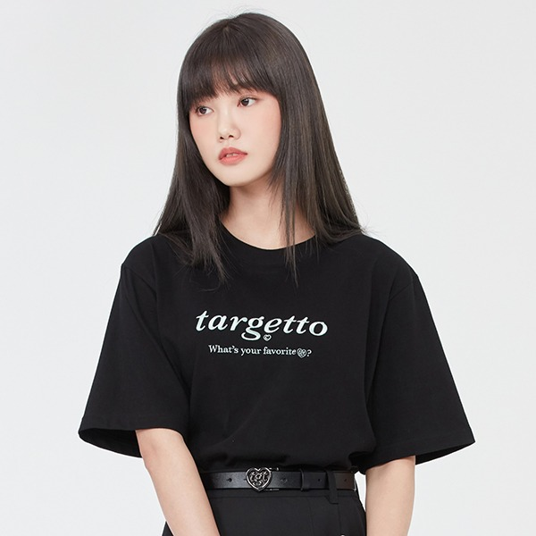 BASIC LOGO TEE SHIRT_BLACK