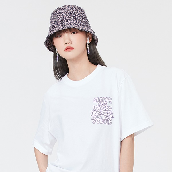 SLOPPY WACKY TEE SHIRT_WHITE